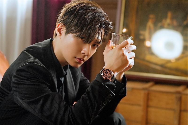 看準炎亞綸影響力,Aries Gold讓他成為亞洲第一位啟用聯名錶款的合作藝人。(Aries Gold提供)