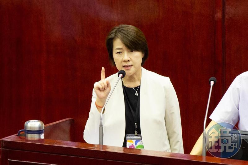 台北副市長黃珊珊在臉書po文,批評陳吉仲「完全沒有做功課」,更強調北市食安條例有關零檢出的對象只有「豬肉」。(本刊資料照)