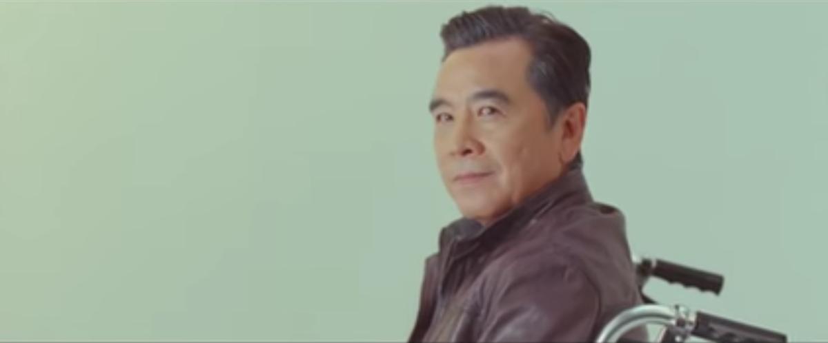 周杰倫電影《天台》特別請來姜大衛演出自己的老年時期。(翻攝自YouTube)