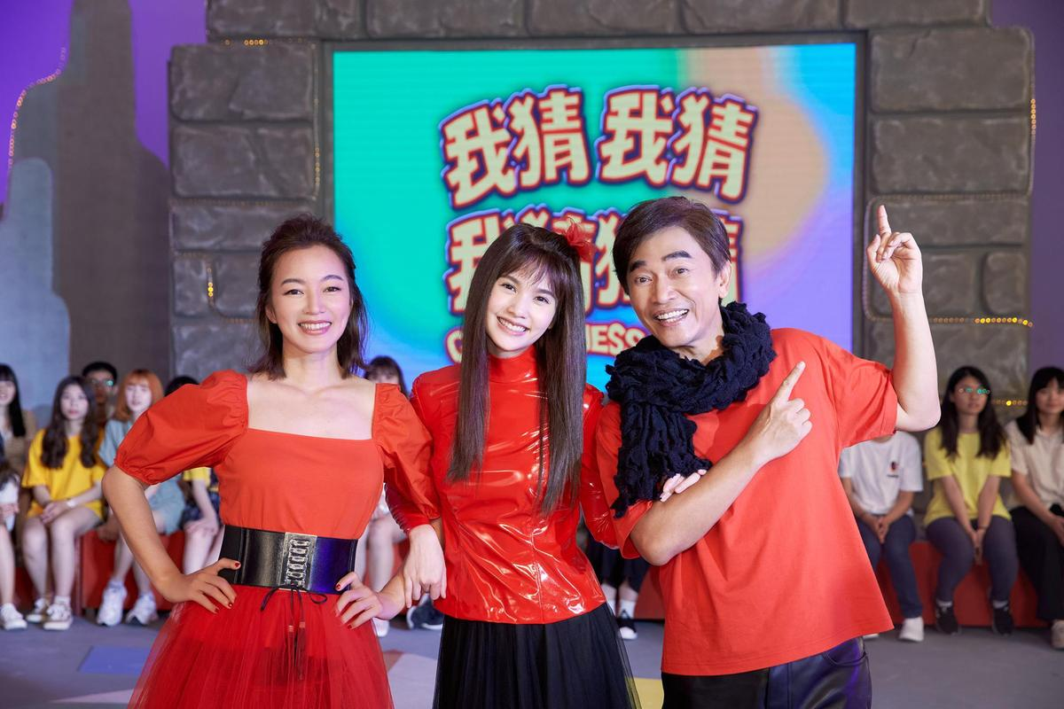 楊丞琳拍MV還原當年《我猜》畫面,找了吳宗憲與阿雅入鏡。 (EMI提供)