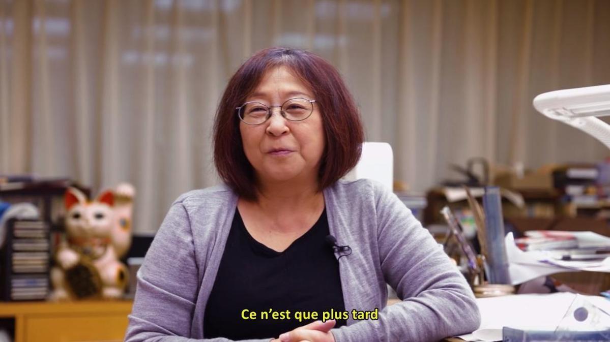 高橋留美子獲日本極高榮譽「紫綬褒章」。(翻攝YouTube「週刊少年サンデーTV」)