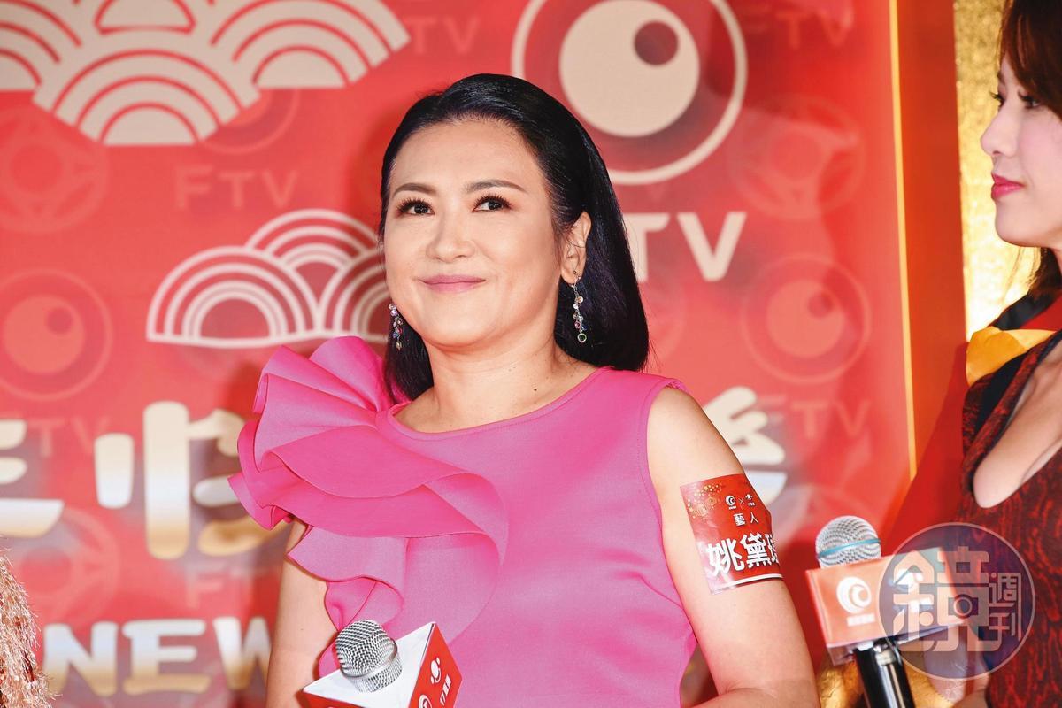 姚黛瑋結婚20年,後來離婚收場。