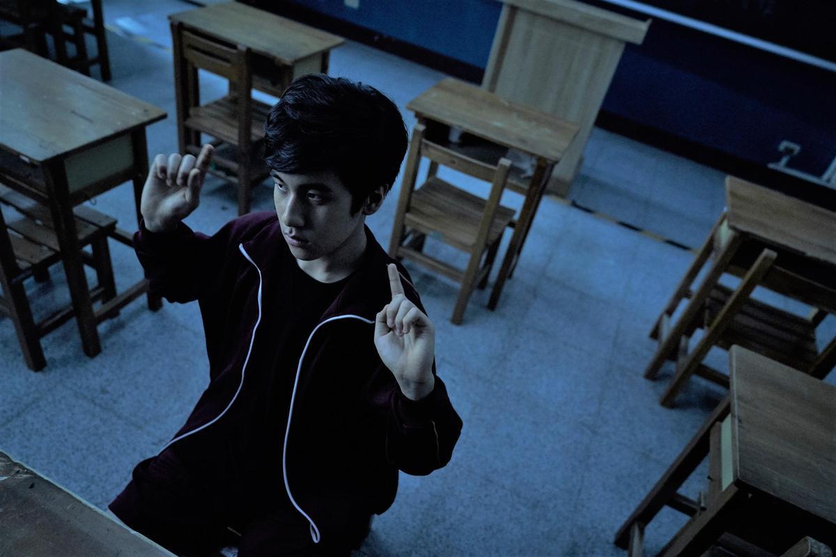 《無聲》中的「小光」金玄彬因在韓國有新劇要開拍,遺憾無法來台。(CATCHPLAY)