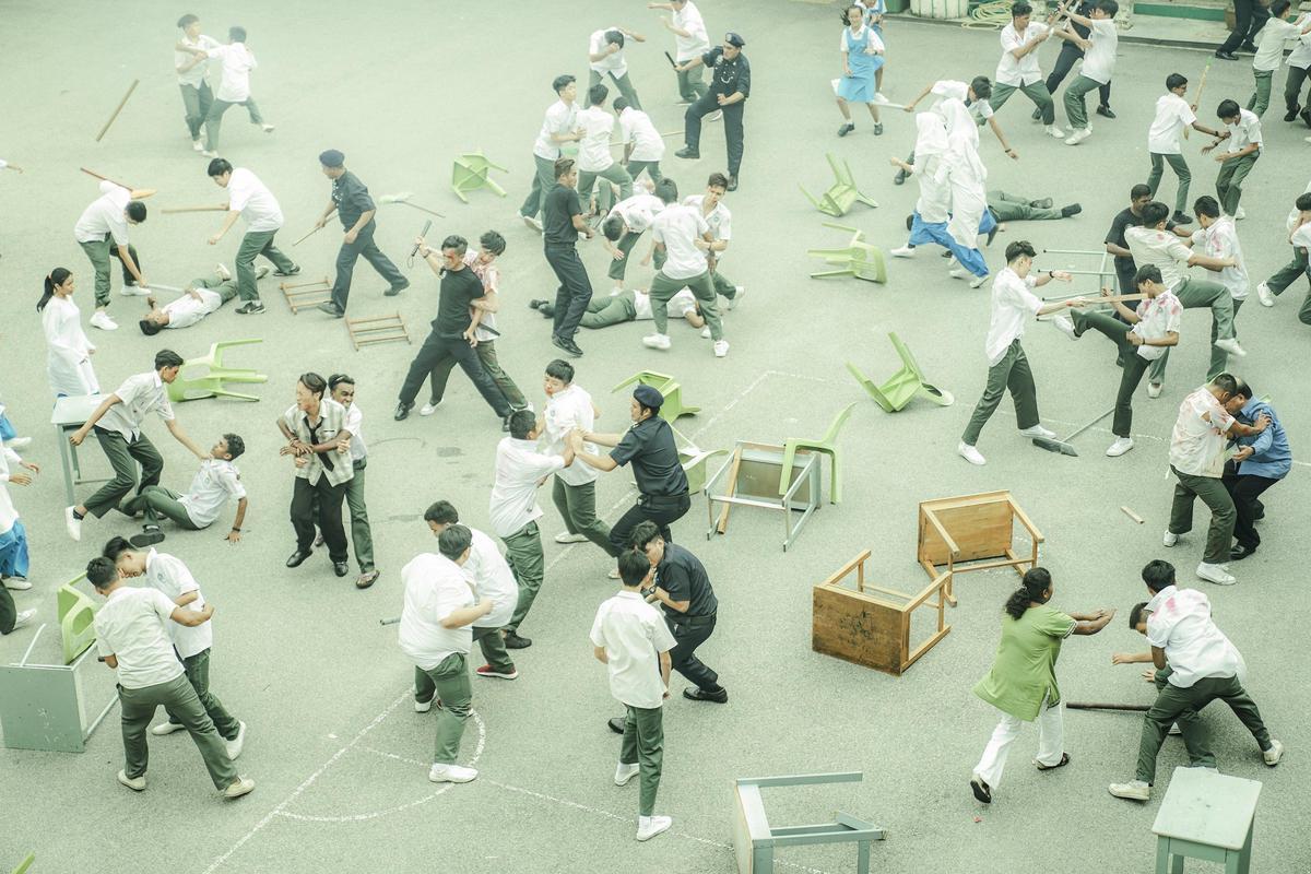 《你是豬》透過20年前馬來西亞的校園衝突,反應社會不同種族的彼此敵視。(華映娛樂提供)