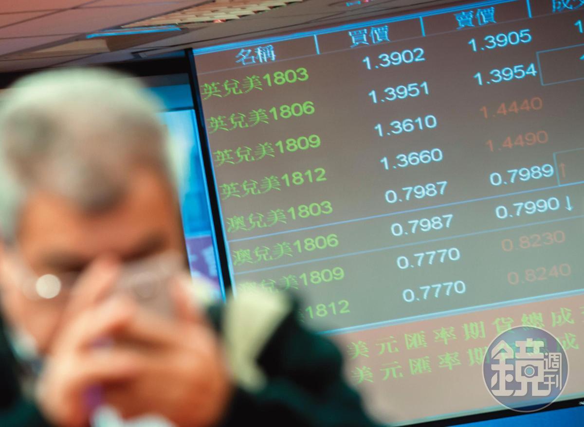 蔡尚樺曾因對投資標的不了解,想賺匯差不成,還倒賠2成。