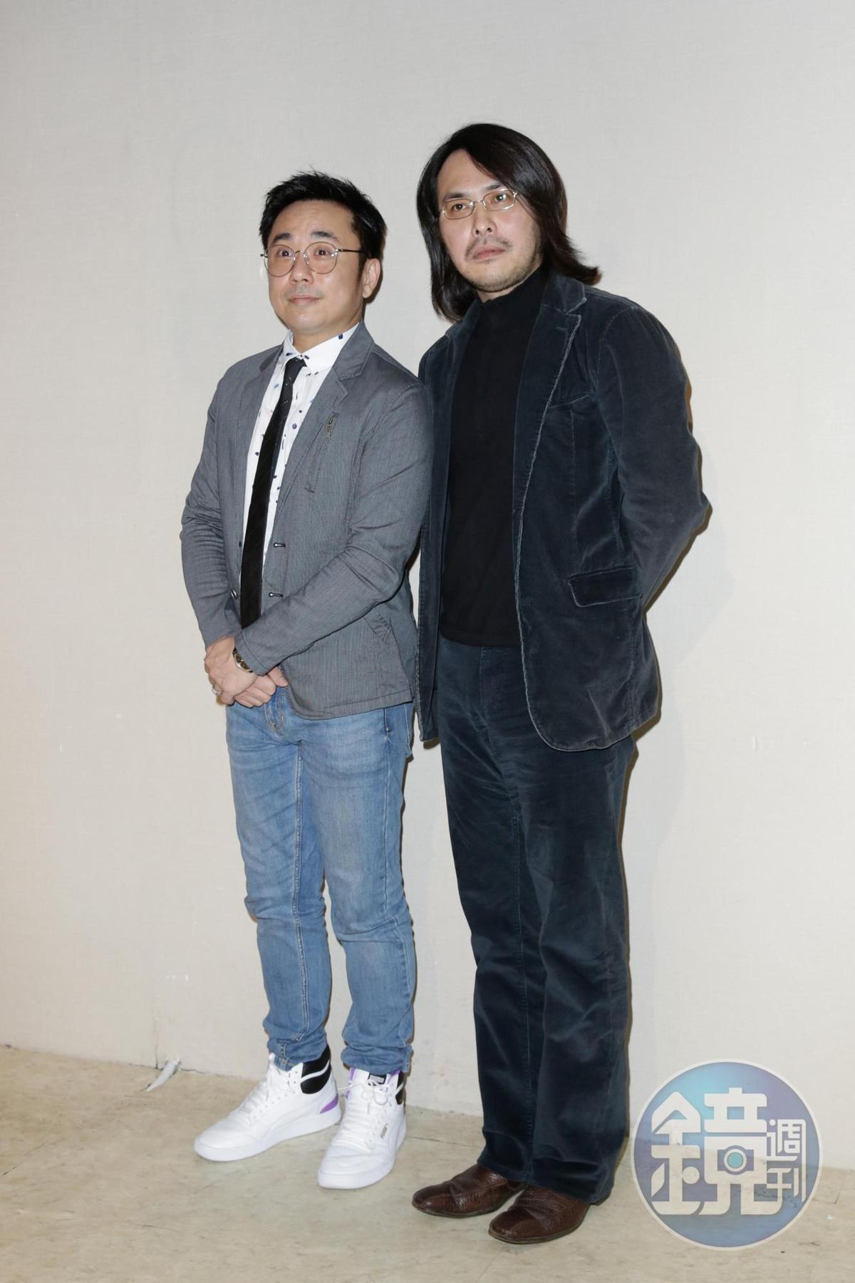 溫兆宇(左)和范植偉(右)是高中同學,兩人交情一直相當不錯。