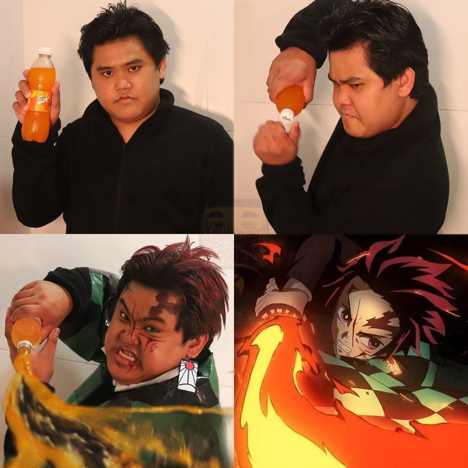 那更進階的「火之神神樂」怎麼辦?沒關係,用一罐果汁就能還原。