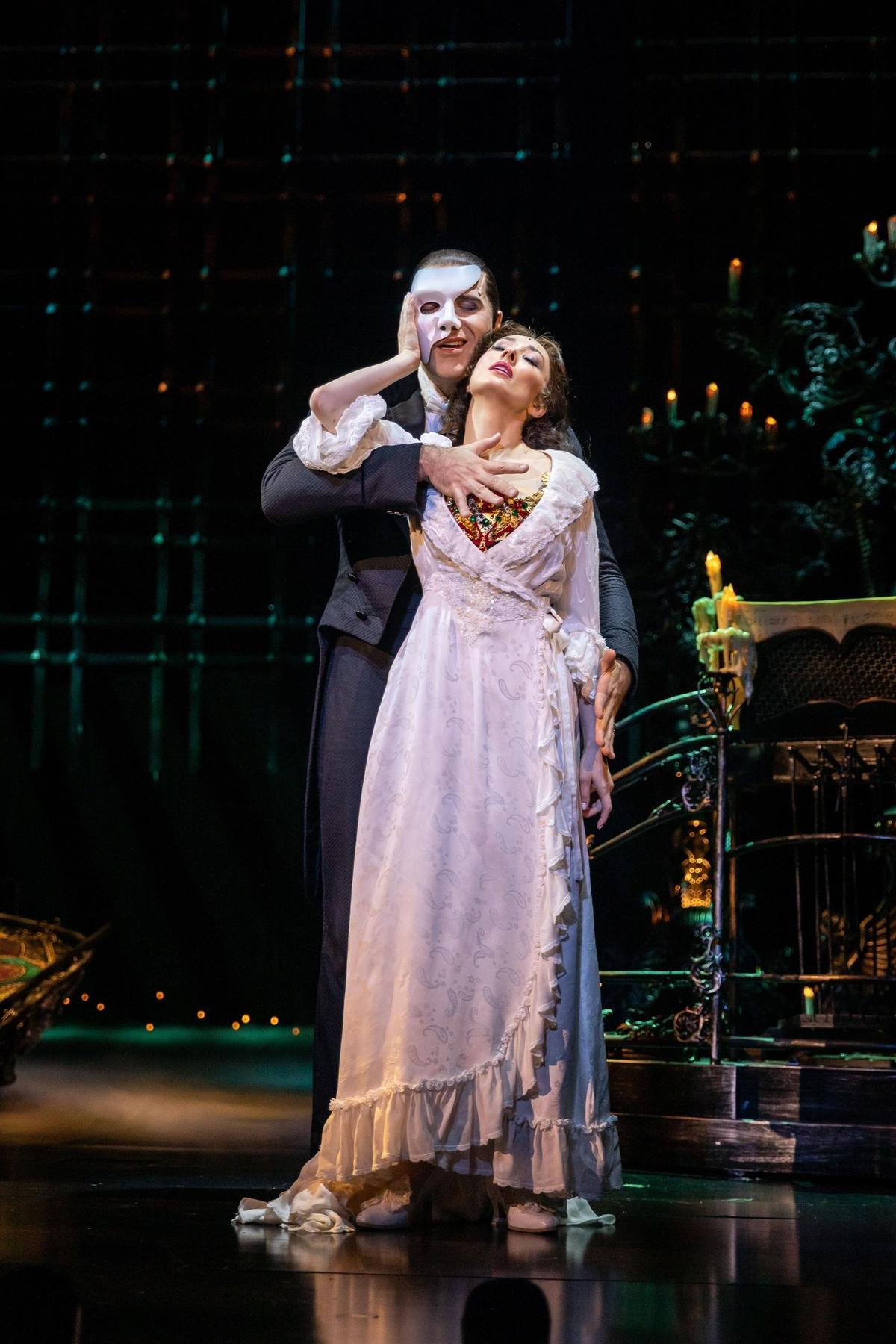 《歌劇魅影》即將於11月20日到12月6日於台北小巨蛋登場。(寬宏藝術提供)