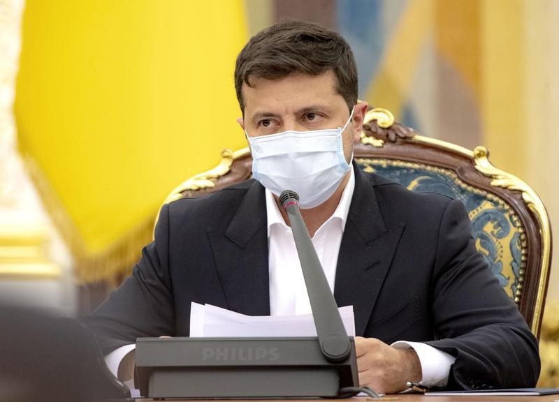 躲不過第2波疫情烏克蘭總統確診武漢肺炎