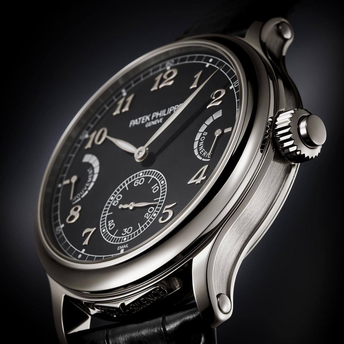 百達翡麗新一代複雜大作:Ref. 6301P腕錶,是品牌首款純粹大自鳴功能的作品。