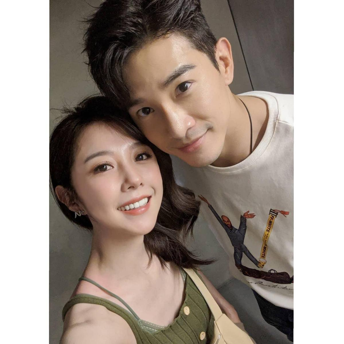 邵雨薇(左)和張立昂(右)分手後仍然保持著很好的關係。(翻攝自邵雨薇臉書)