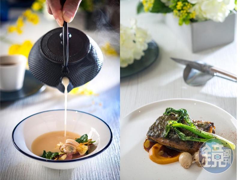 時髦中餐廳「chinois」,用法菜技法復刻經典中菜。