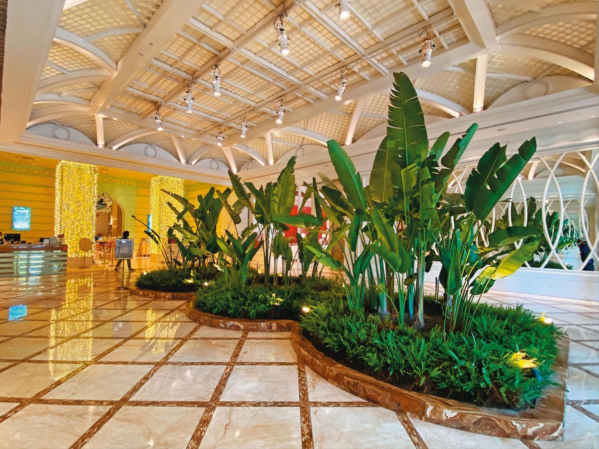 林酒店別出心裁的設計與注重造景的視覺氛圍,烘托威士忌單桶原酒的珍稀。