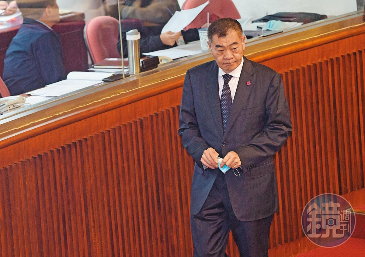 國民黨籍議長陳錦祥(圖),表態支持宣布參與台北市長初選的市議員羅智強。