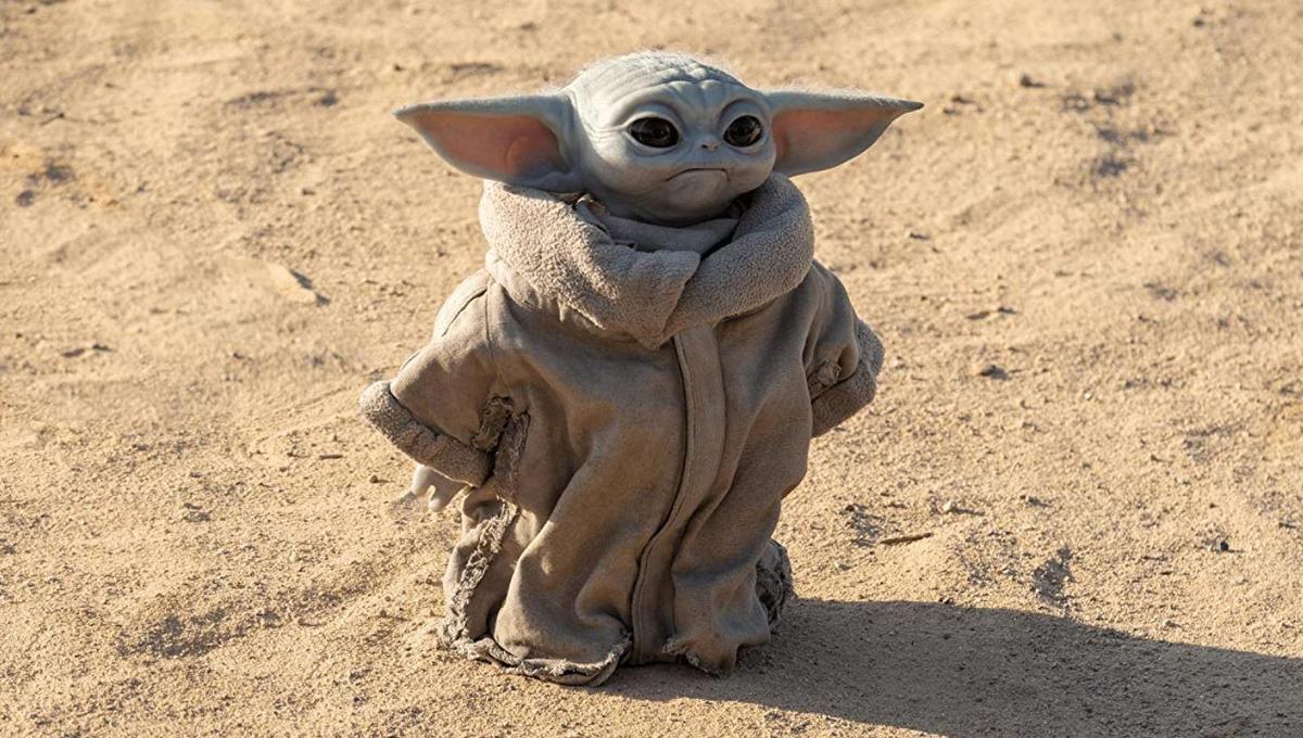 尤達寶寶出現於Disney+影集《曼達洛人》,可愛模樣圈粉無數。(劇照,翻攝IMDb)
