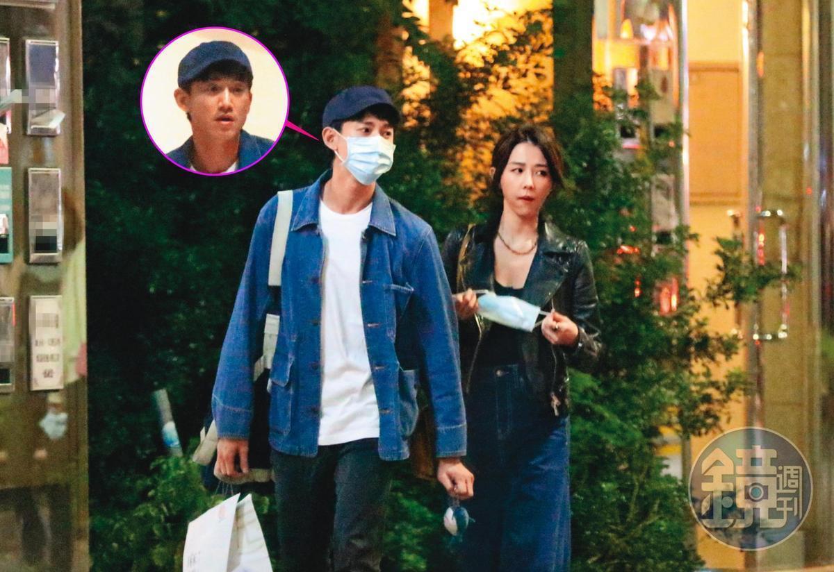 吳慷仁(左)和邵雨薇日前被本刊拍到約會16小時,戀情大復合。(本刊資料照)