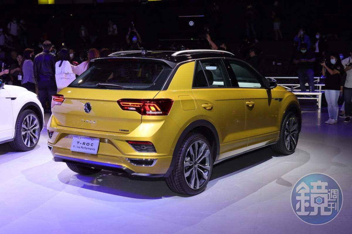 T-Roc是使用VW全新LOGO的首作。