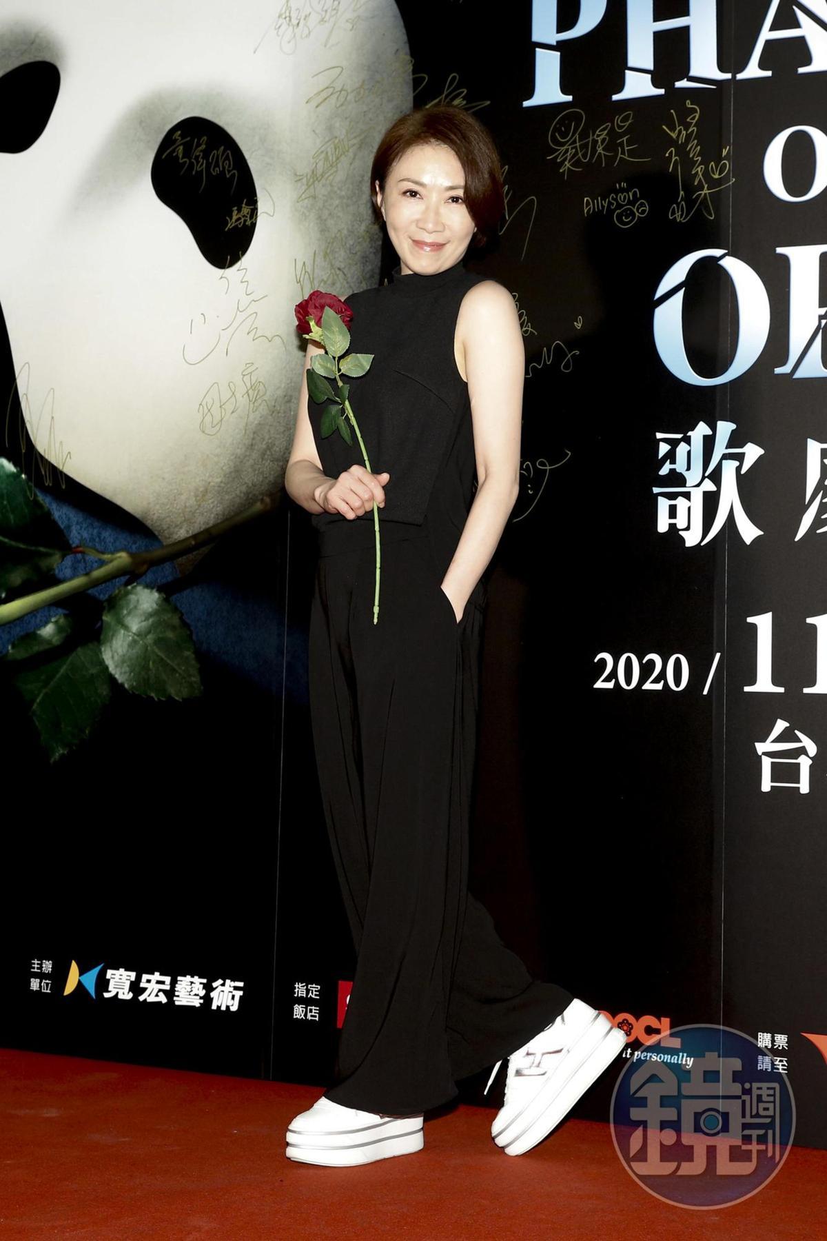 李翊君是第三次看《歌劇魅影》。
