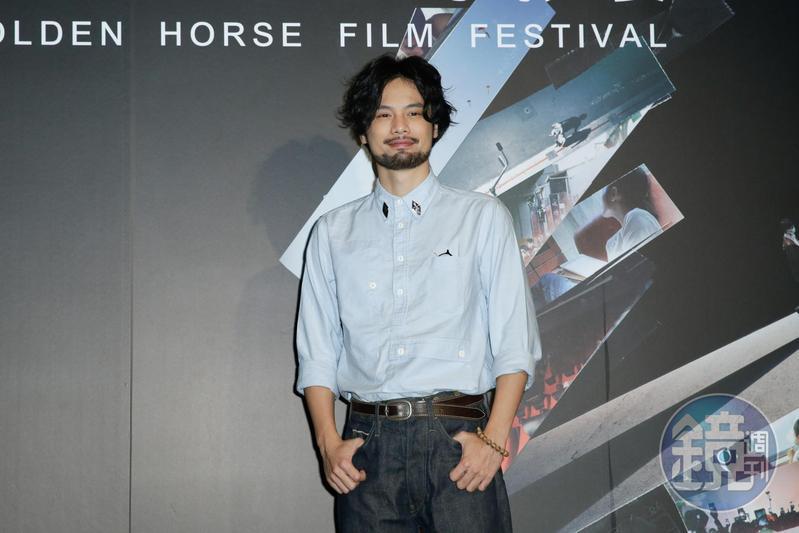 陳健朗有著不遜於演員的外型,原來他也當過演員,兩種不同身分令他有更加不同的視野來看待電影藝術。
