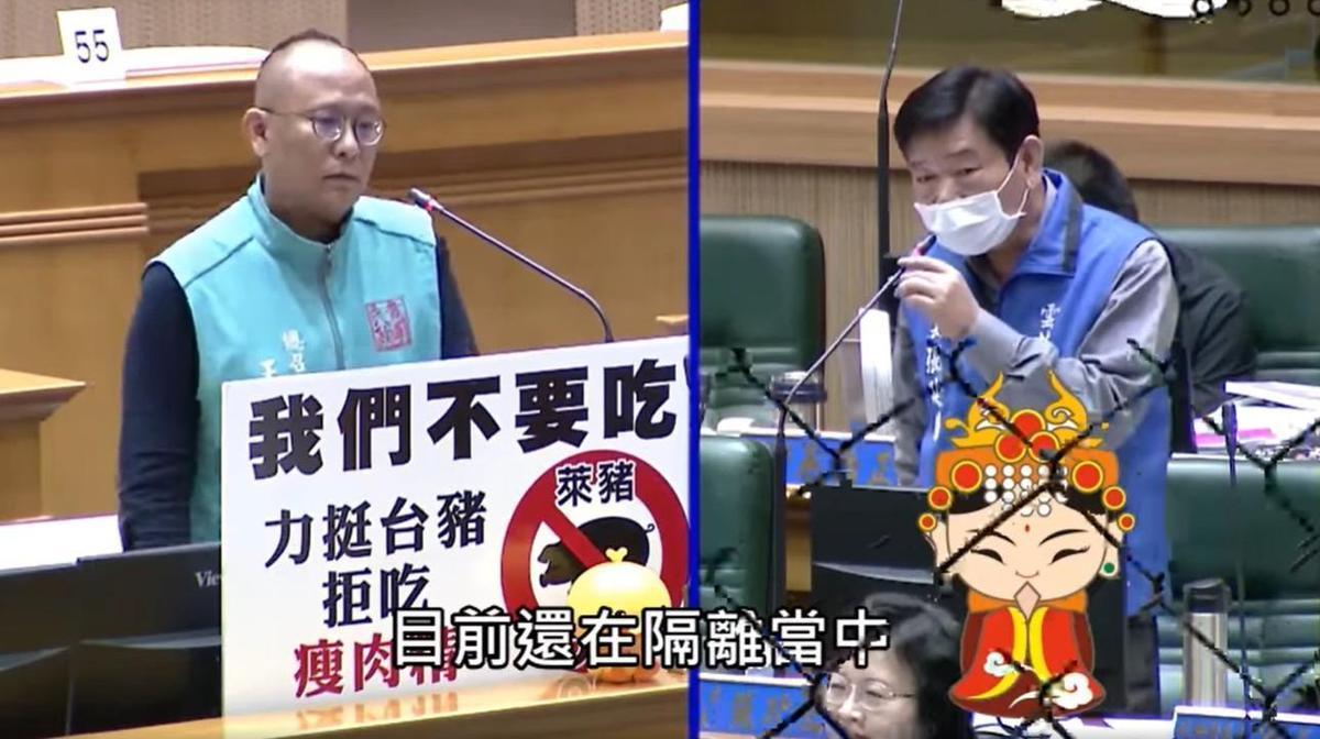 媽祖已赴美隔離14天 雲林議會質詢「練肖話」笑翻網友