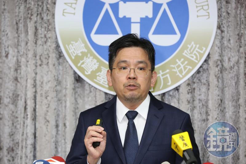 台北地院刑事庭長江俊彥說明永豐金背信案有罪理由。