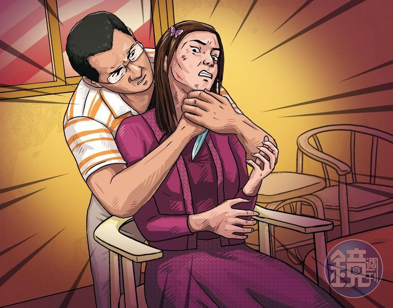 闕男供稱因劉女嗆他沒膽殺人,才憤而持刀朝對方的胸口狠刺。