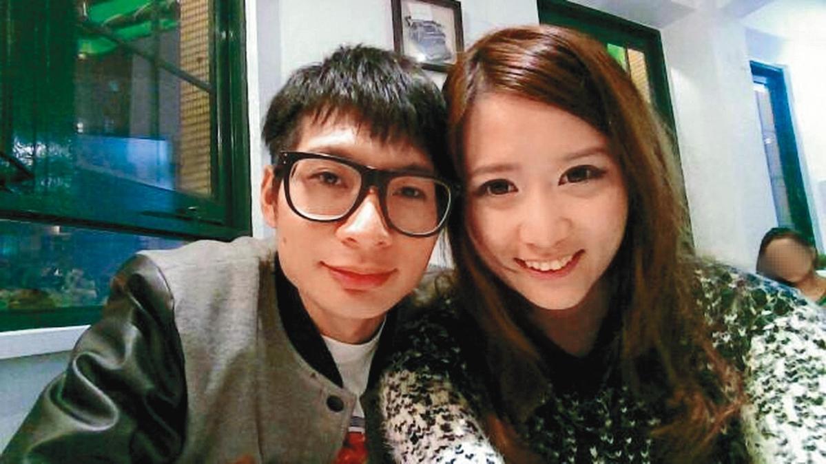 逸祥(左)當年曾大張旗鼓向當時的女友白白(右)求婚成功,但又遭毀婚。(翻攝自逸祥臉書)