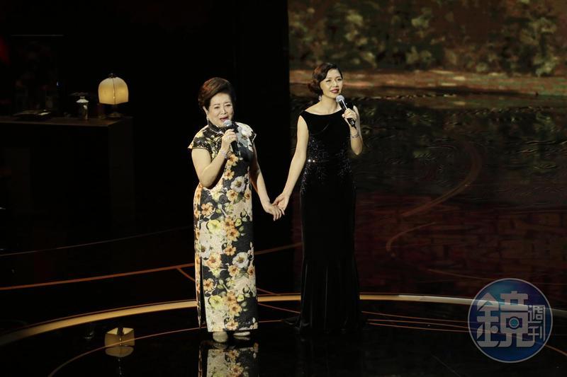 陳淑芳及「琇琴」于子育帶來電影《孤味》同名主題曲時,更是令在場來賓聽到感動落淚。
