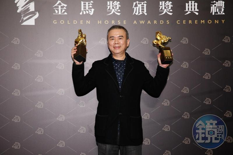 曾是電影界逃兵的陳玉勳,13年後重新回到電影圈繼續奮鬥,終於以《消失的情人節》拿到最佳原著劇本、最佳導演獎。