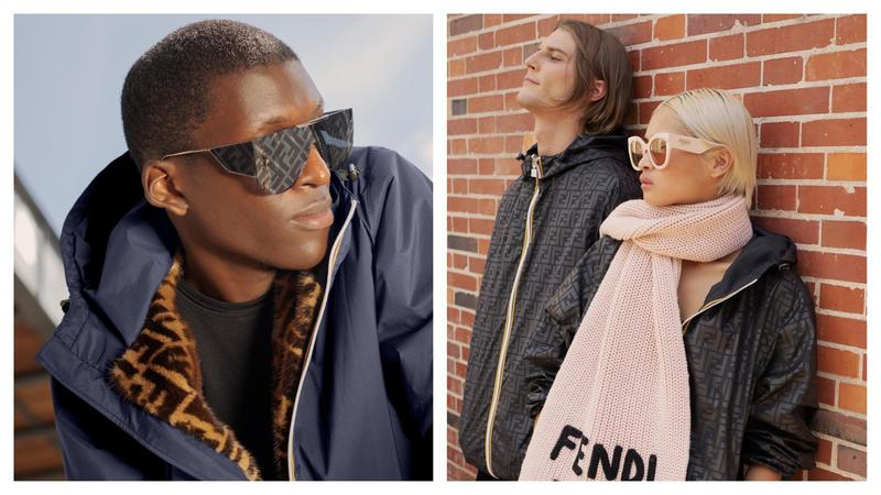 FENDI本次與K-Way®合作,推出可以雙面穿的FF Logo夾克,一面是K-Way®著名的防水尼龍材質,另外一面則印了滿滿FF Logo,還有推出水貂毛皮草的款式,更添奢華的精品感受。(FENDI提供)