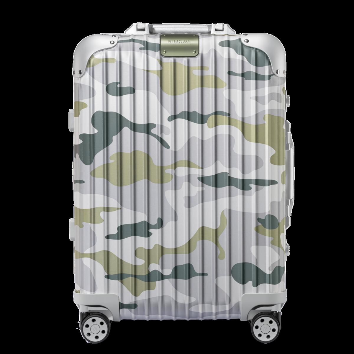 RIMOWA Original系列Cabin Green Camouflage價格電洽。(RIMOWA提供)