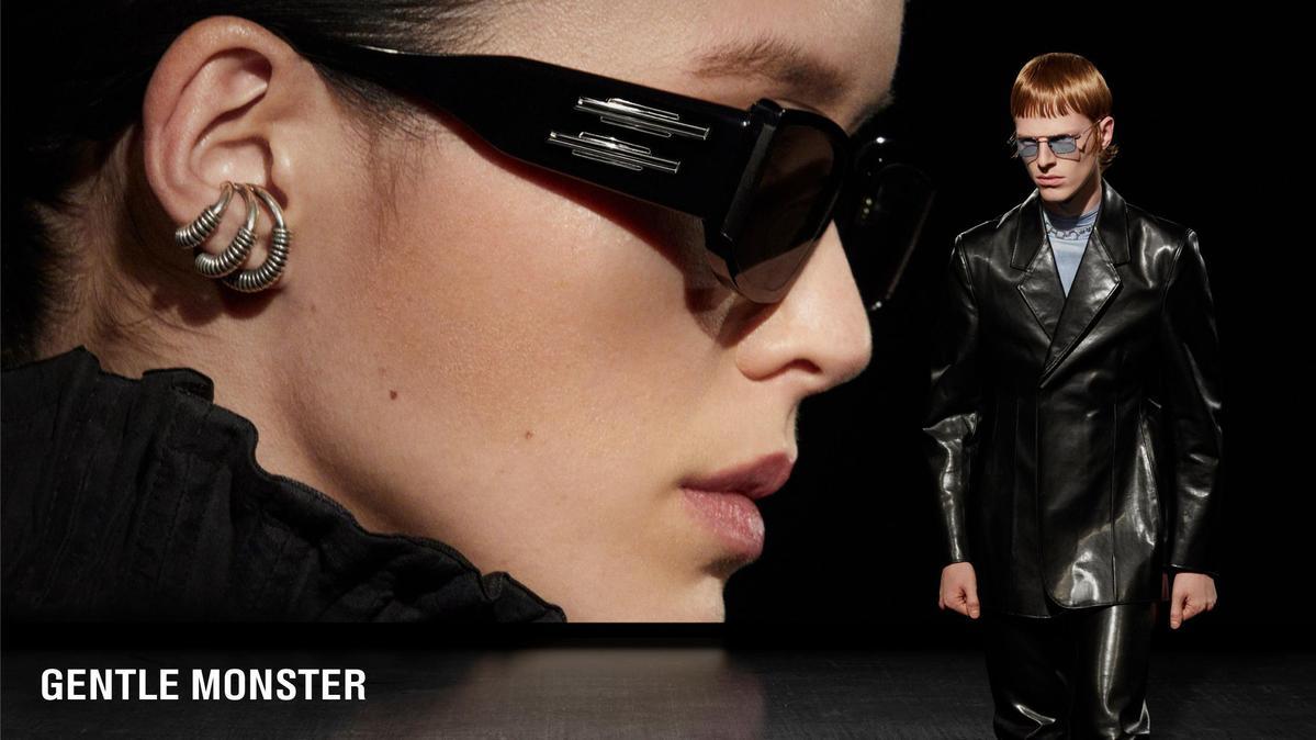 GENTLE MONSTR與華為聯手推出第二代智慧眼鏡系列。(GENTLE MONSTER提供)