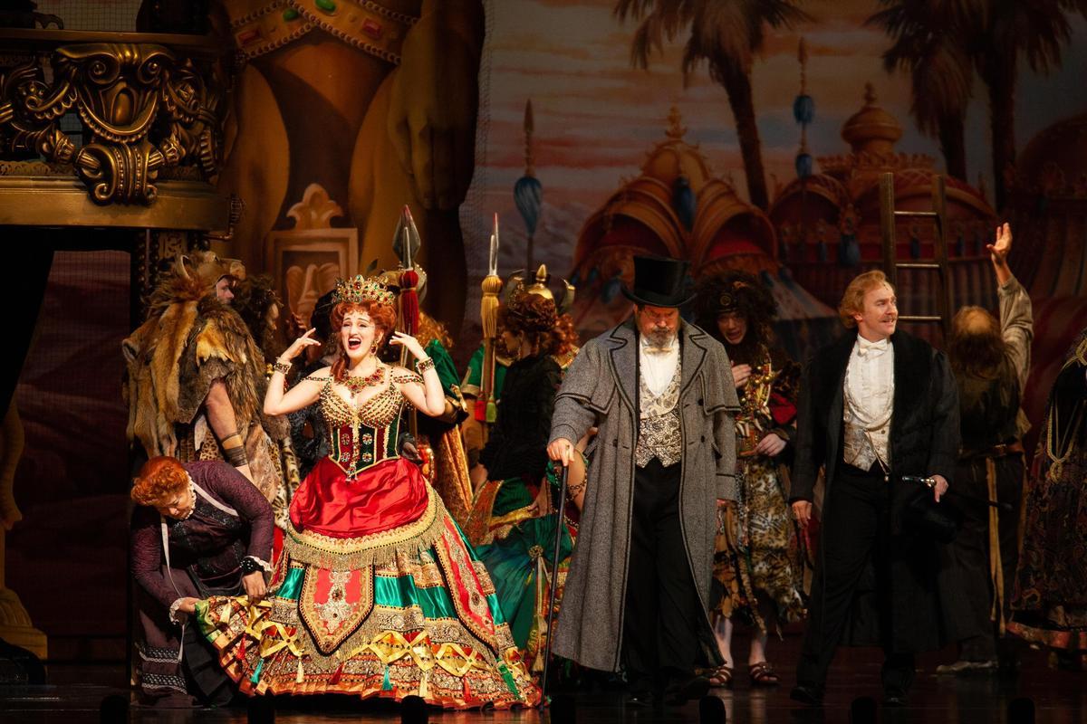 《歌劇魅影》第4度來台,將演出到12月6日。(寬宏藝術提供)