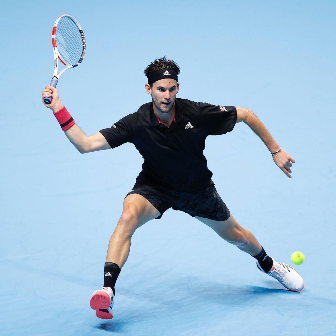 來自奧地利的蒂姆連2年在年終賽屈居亞軍。(翻攝Tennis TV IG)