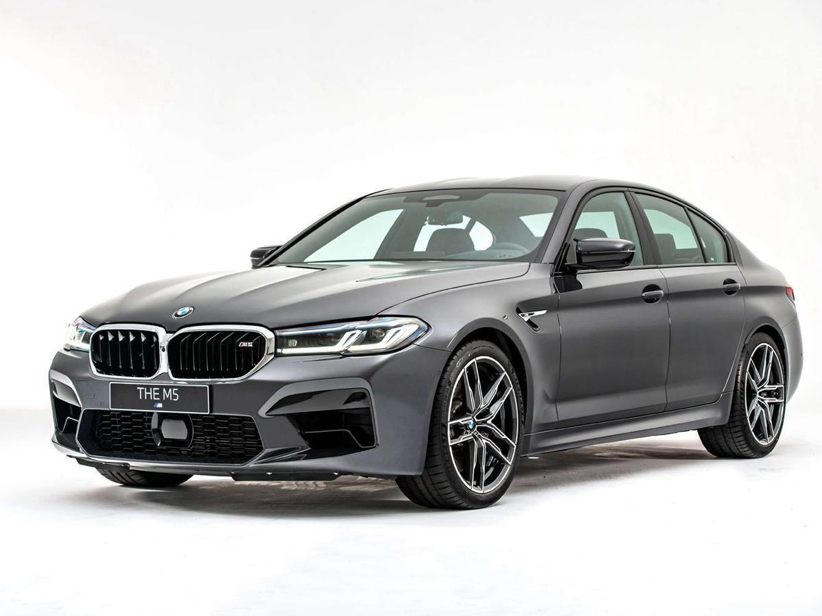所期待的全新BMW M5強勢重磅登場。