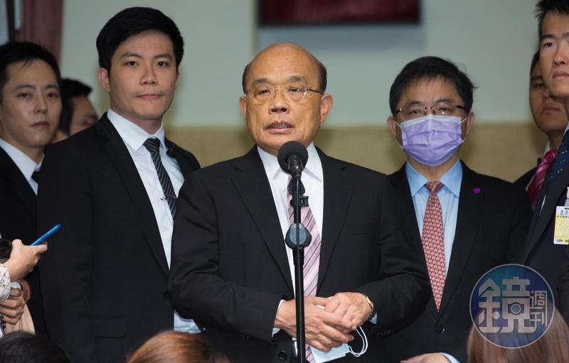 針對馬國女大生家屬提出國賠與極刑凶嫌要求,蘇貞昌回應了。(本刊資料照)