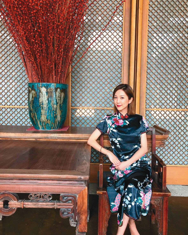 邱士楷的新歡是30歲左右的上海姑娘,名叫Ariel。(翻攝自arielcheung IG)