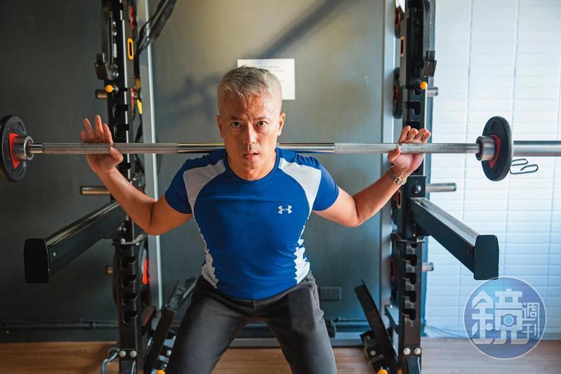 郭俊宏每週運動4天,維持身體最佳狀態,也培養自己紀律投資。