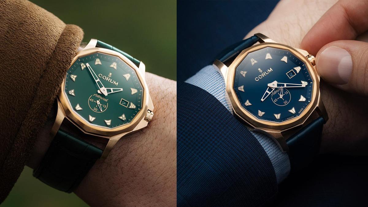 Admiral 42 Automatic Bronze 錶徑42mm/青銅材質/時間指示/CO 395自動上鏈機芯/防水50米/各色限量100只/建議售價NT$ 163,000