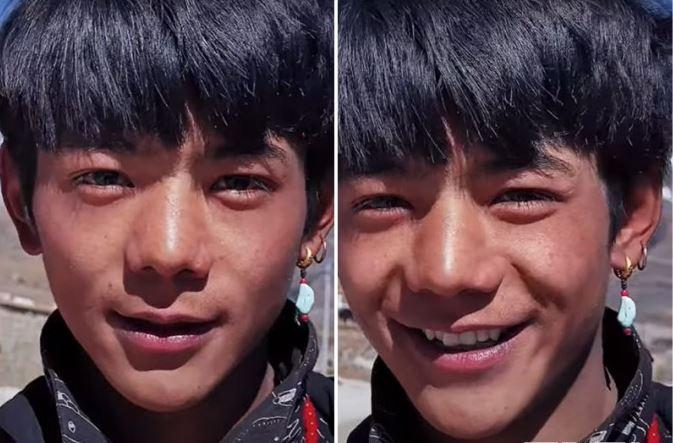 丁真以「藏族康巴漢子有多帥」成為熱門話題。(翻攝微博)
