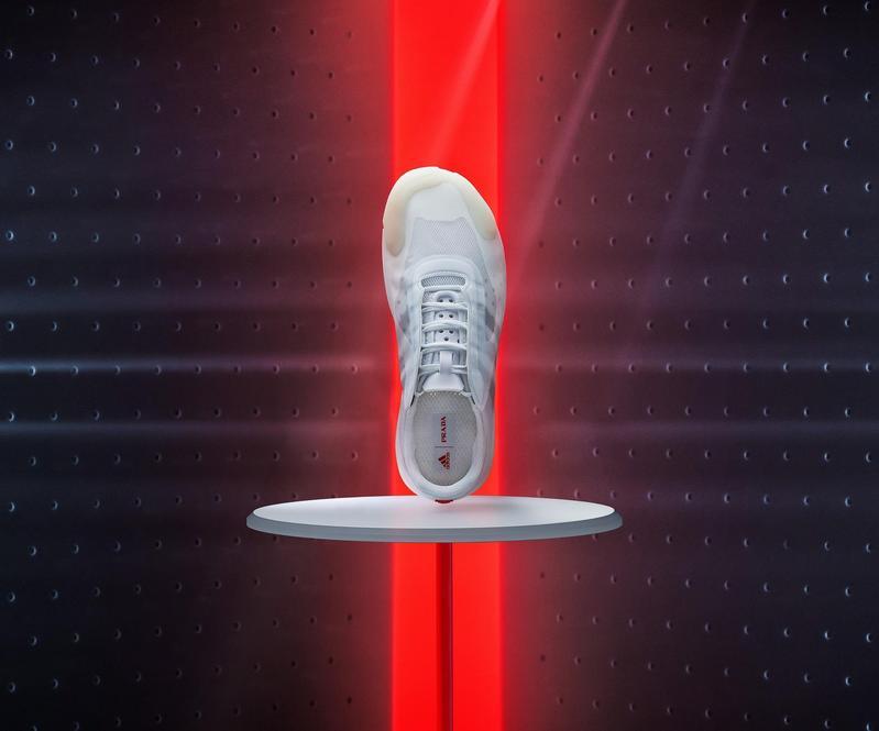 A+P Luna Rossa 21運動鞋,NT$19,000。(PRADA提供)