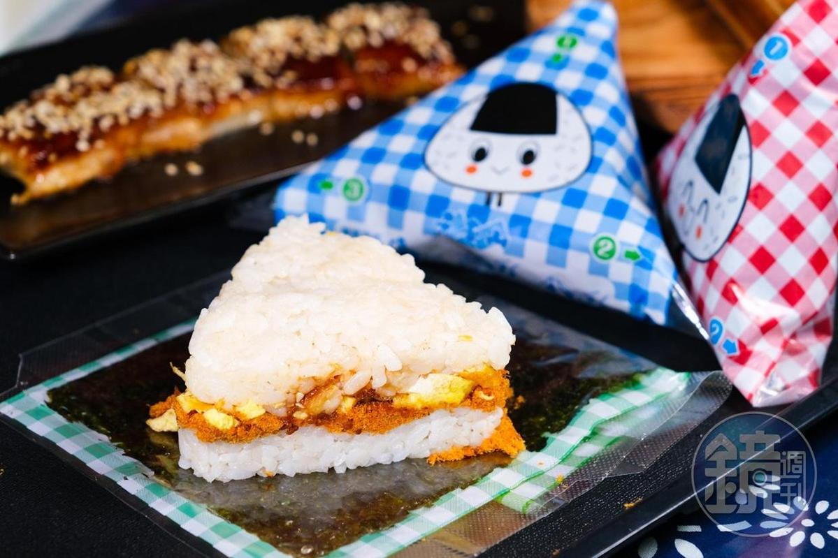 藉由模具和飯糰海苔紙,每個人都能做出完美鰻魚御飯糰。