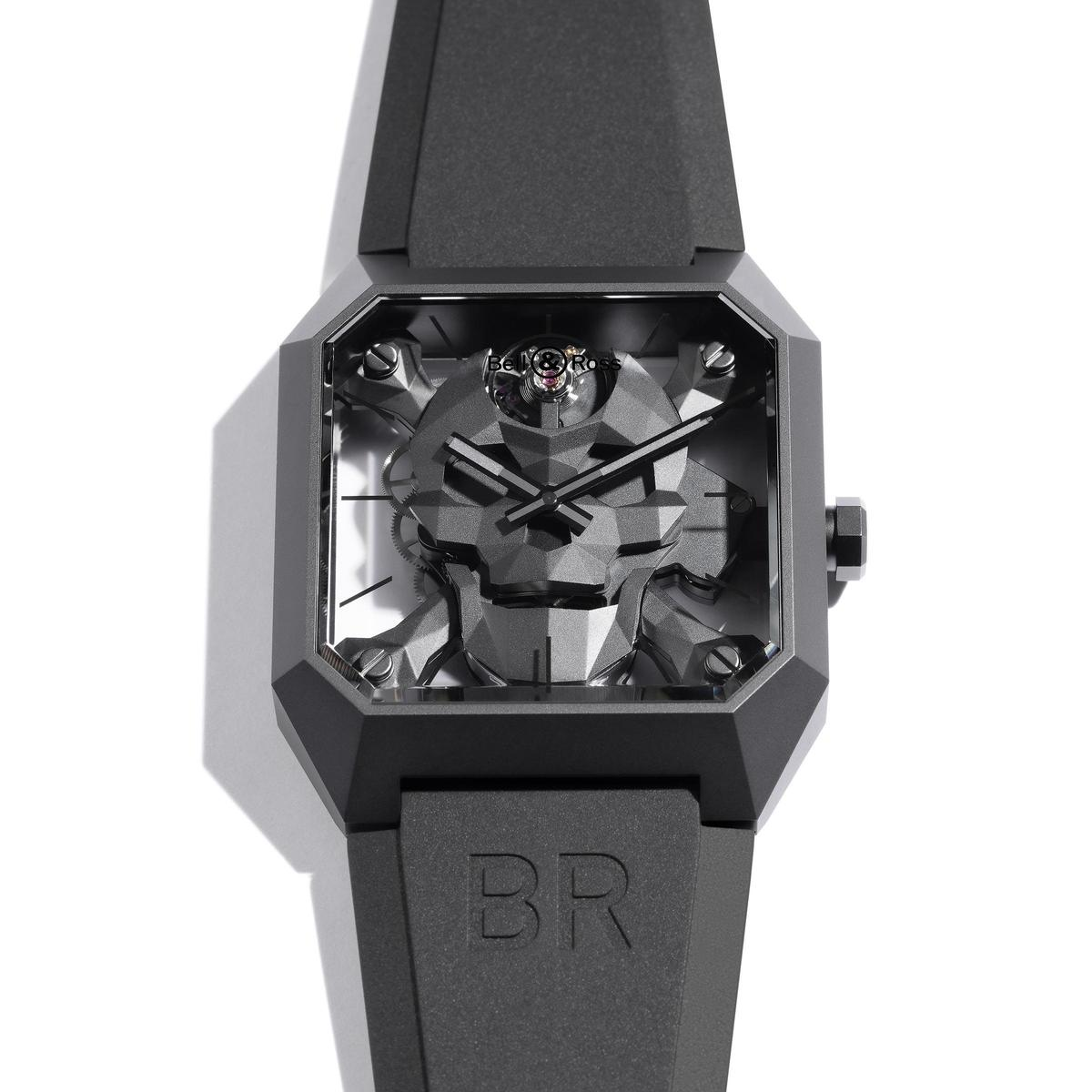 BELL & RSS BR 01 Cyber Skull腕錶,定價NT$354,000。
