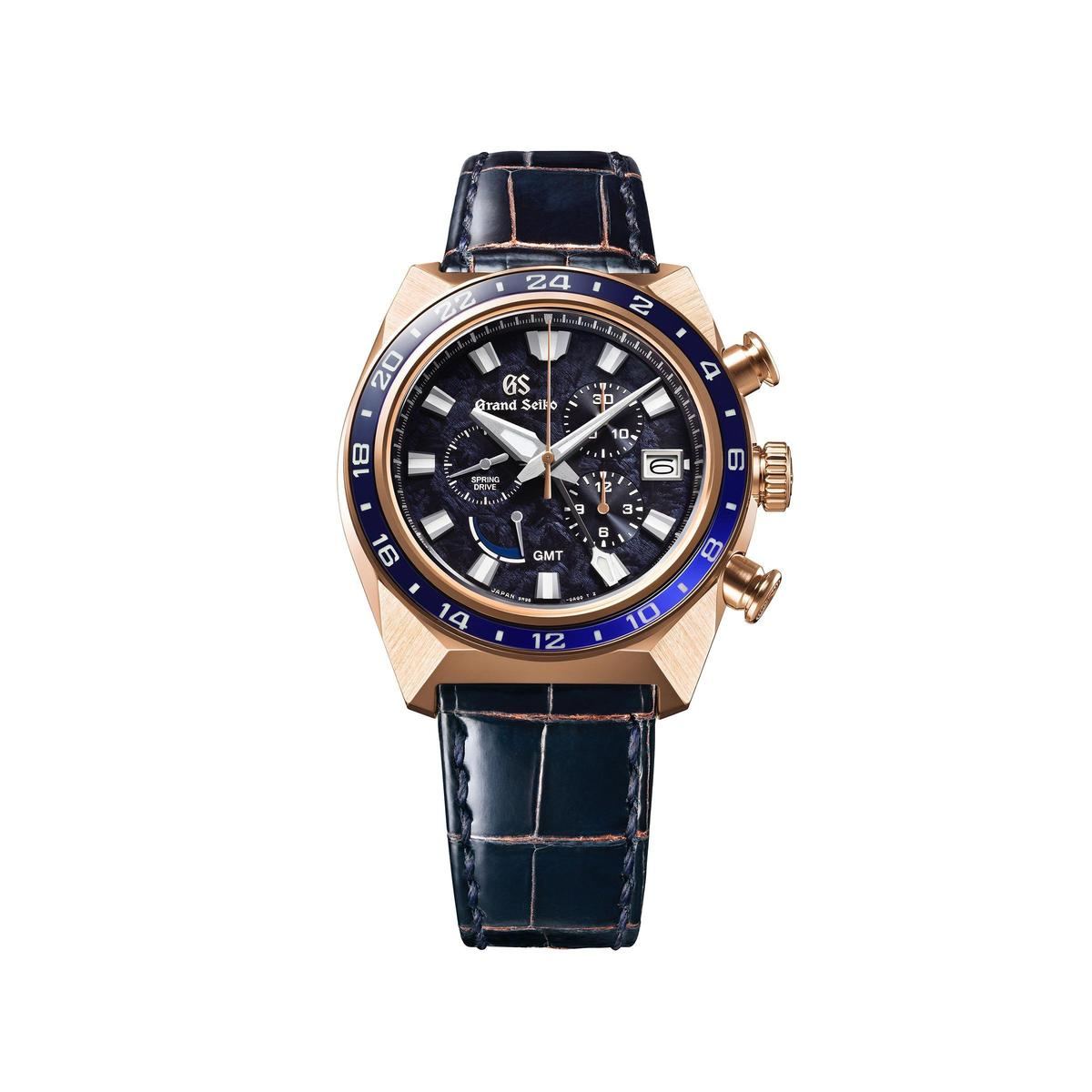 GRAND SEIKO 60周年紀念限定錶款SBGC238,全球限量100只,建議售價NT$1,400,000。
