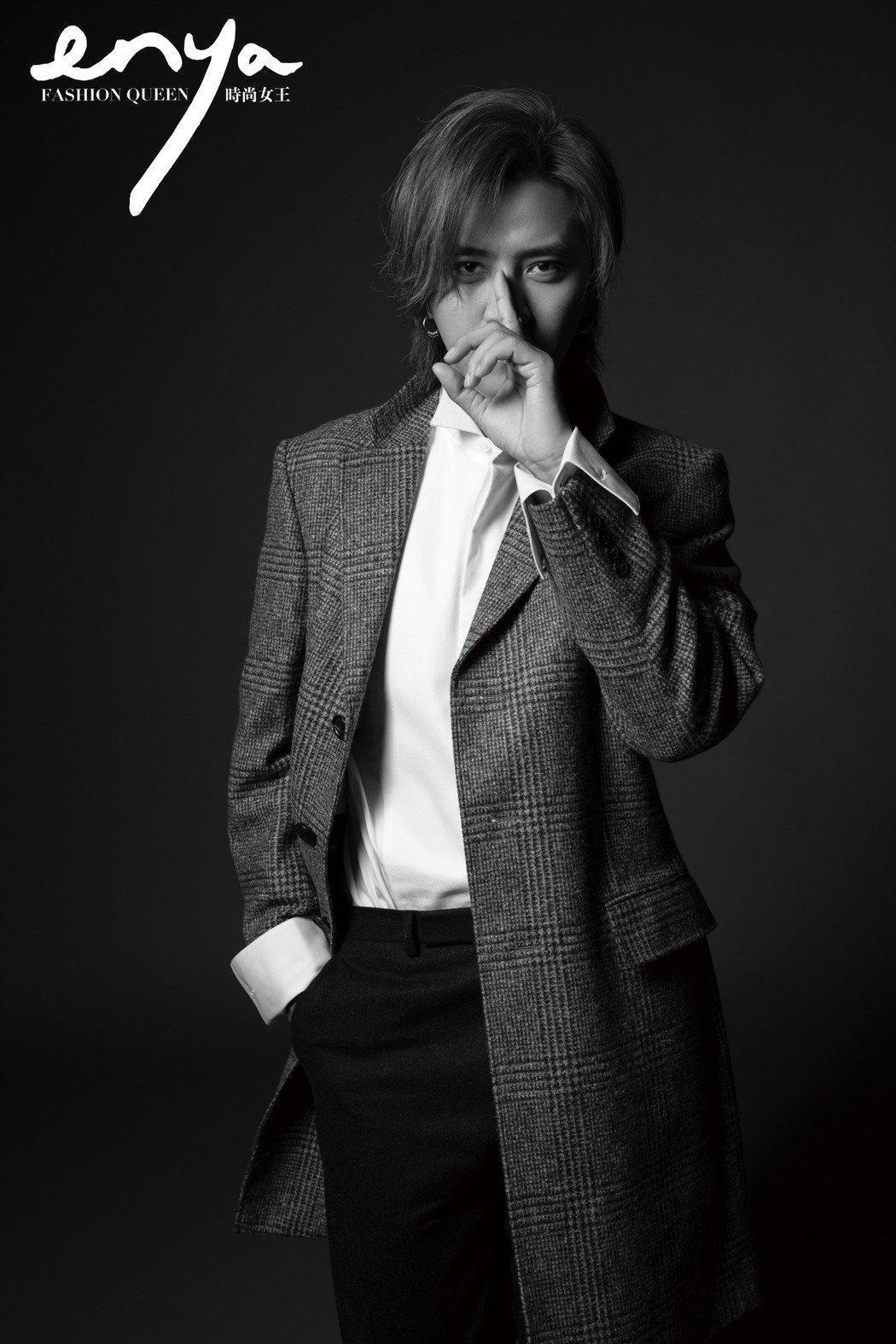 羅志祥沉寂了7個月,接受時尚雜誌《Fashion Queen》專訪,回應了被誤會的5個爭議事件。(翻攝自《Fashion Queen》)
