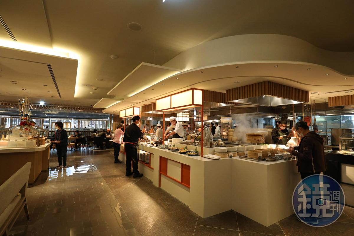 小小一個餐檯,集合了香宮與醉月樓最受歡迎的人氣料理。