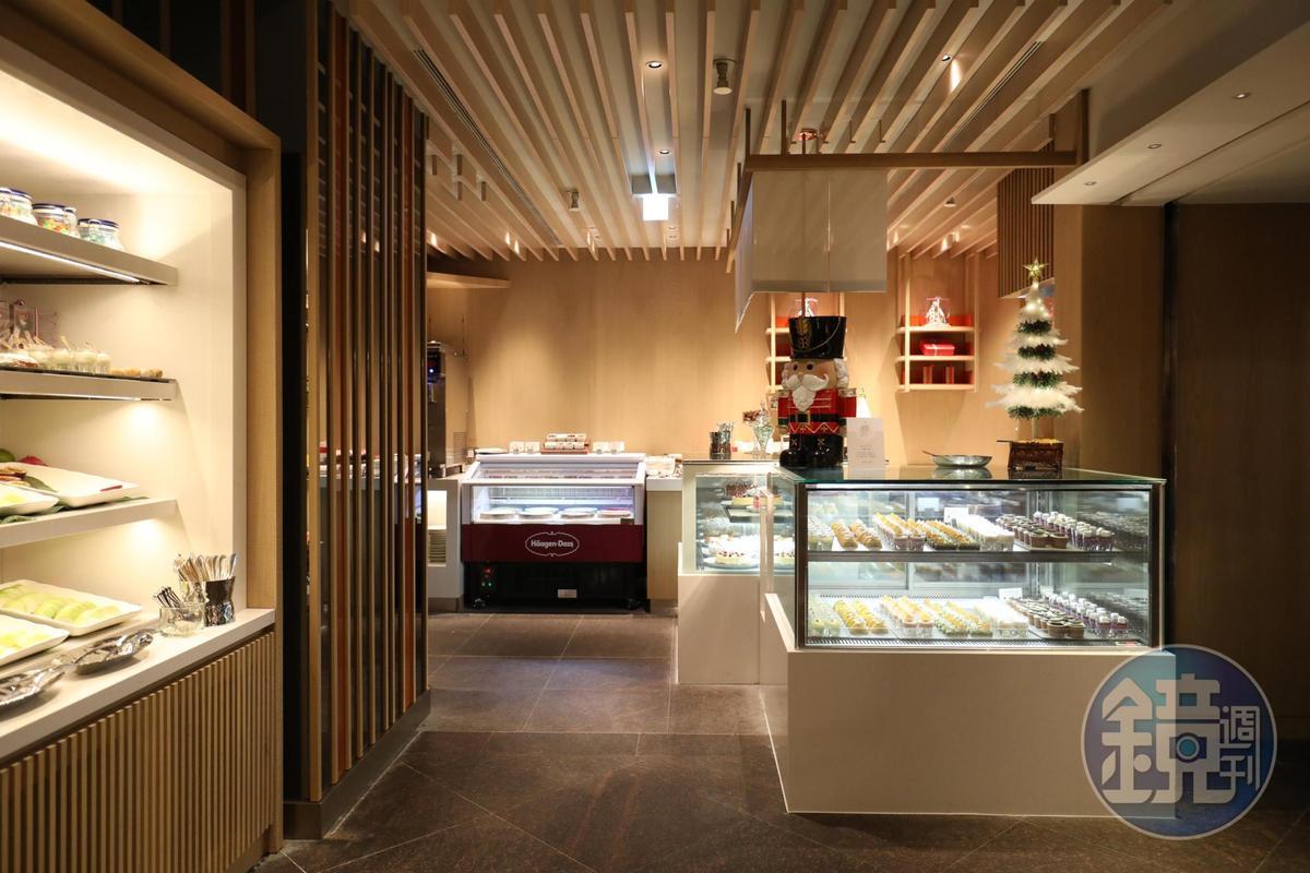 甜點區宛如一間小型甜品店。