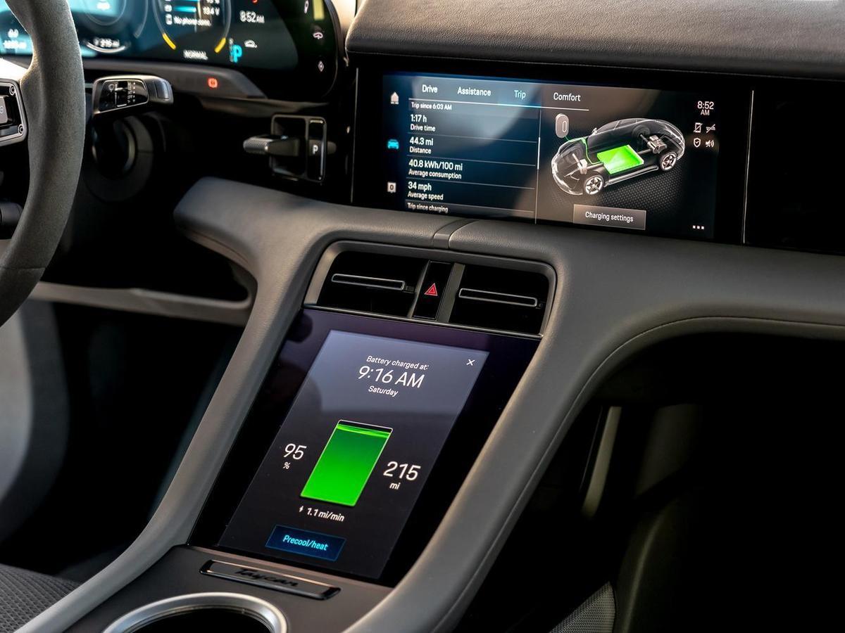 續航里程,Turbo S 車型高達 412 km,Turbo 車型則超過 450 km,而4S車型可達463 km(皆符合WLTP 數據)。