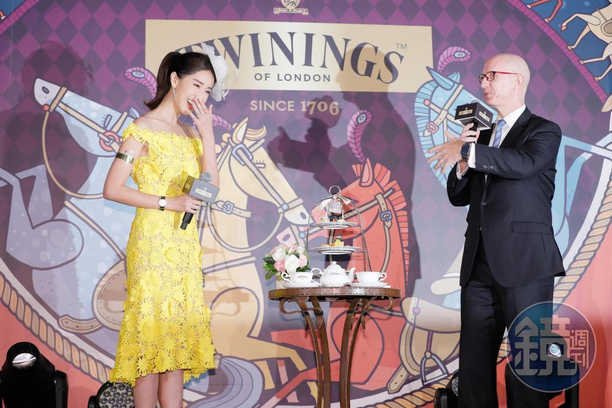 隋棠出席唐寧茶皇室午茶饗宴,表示「愈多公民參與公眾事務討論,這個社會才會進步,就算是酸民說的話也會有建設性」。