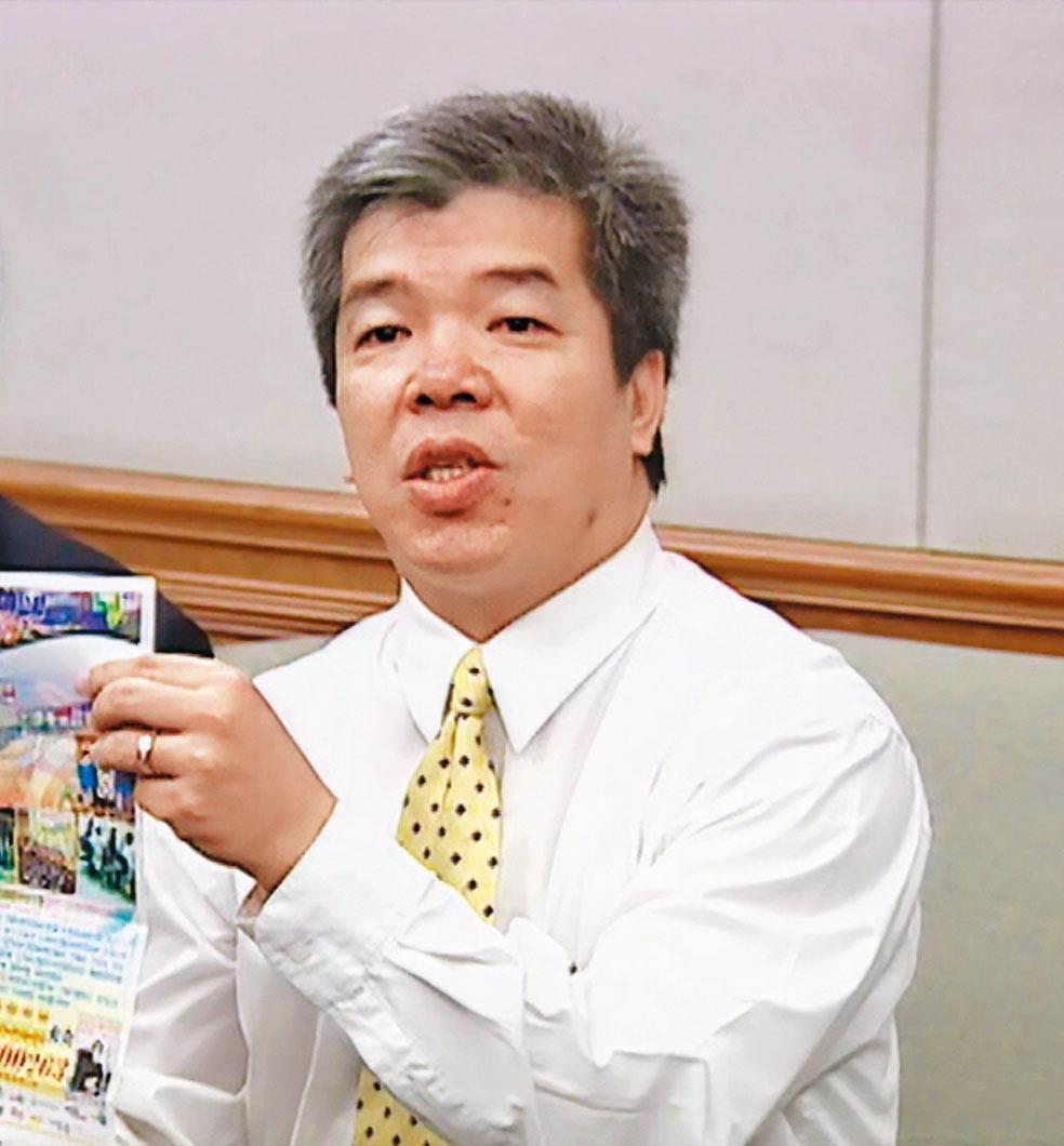 遭槍殺的吳善九問政犀利,有議會小鋼炮之稱。(東森新聞提供)